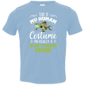 THIS SI MY HUMAN COSTUME Toddler Jersey T-Shirt