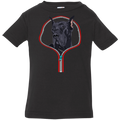 GREAT DANE ZIP-DOWN Infant Jersey T-Shirt