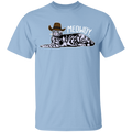 MEOWDY TEXAS CAT Youth 5.3 oz 100% Cotton T-Shirt