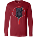 GREAT DANE ZIP-DOWN Men's Jersey LS T-Shirt