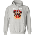 PUG MOM LADIES Pullover Hoodie 8 oz.