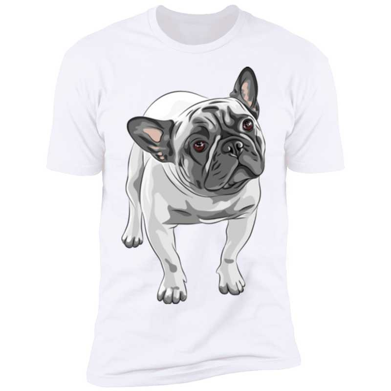 FUNNY ENGLISH BULLDOG Premium Short Sleeve T-Shirt