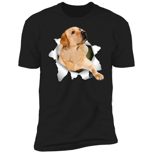 LABRADOR RETRIEVER 3D Premium Short Sleeve T-Shirt