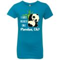 I REALLY LIKE PANDAS Girls' Princess T-Shirt
