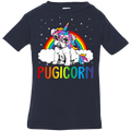 PUGICORN Infant Jersey T-Shirt