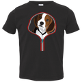BEAGLE ZIP-DOWN Toddler Jersey T-Shirt