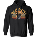 BEST DOG DAD EVER Pullover Hoodie 8 oz.