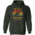 THIS IS MY HUMAN COSTUME LADIES Pullover Hoodie 8 oz.