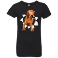 VIZSLA 3D Girls' Princess T-Shirt