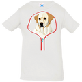 LABRADOR RETRIEVER ZIP-DOWN Infant Jersey T-Shirt