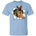 GERMAN SHEPARD 3D Youth 5.3 oz 100% Cotton T-Shirt
