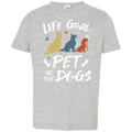 PET ALL THE DOGS Toddler Jersey T-Shirt