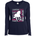 HORSE LOVER Ladies' LS Performance V-Neck T-Shirt