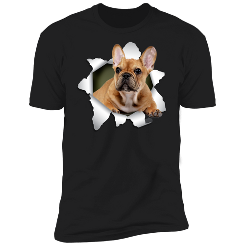 FRENCH BULLDOG 3D Premium Short Sleeve T-Shirt