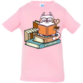 CATS TEA AND BOOKS Infant Jersey T-Shirt