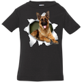 GERMAN SHEPARD 3D Infant Jersey T-Shirt