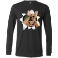 FRENCH BULLDOG 3D Men's Jersey LS T-Shirt