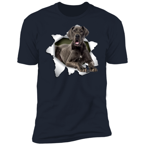 GREAT DANE 3D Premium Short Sleeve T-Shirt