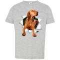 VIZSLA 3D Toddler Jersey T-Shirt