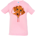 DACHSHUND ZIP-DOWN Infant Jersey T-Shirt