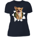 CHIHUAHUA 3D Ladies' Boyfriend T-Shirt
