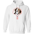 BEAGLE ZIP-DOWN LADIES Pullover Hoodie 8 oz.