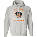 JUST A NURSE WHO LOVES DACHSHUNDS LADIES Pullover Hoodie 8 oz.