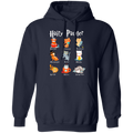 HAIRY PAWTER LADIES Pullover Hoodie 8 oz.