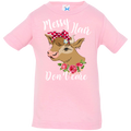 MESSY HAIR DON'T CARE Infant Jersey T-Shirt