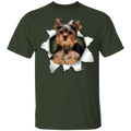 YORKSHIRE TERRIER Youth 5.3 oz 100% Cotton T-Shirt