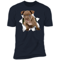 PITBULL 3D Premium Short Sleeve T-Shirt
