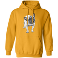 FUNNY ENGLISH BULLDOG LADIES Pullover Hoodie 8 oz.