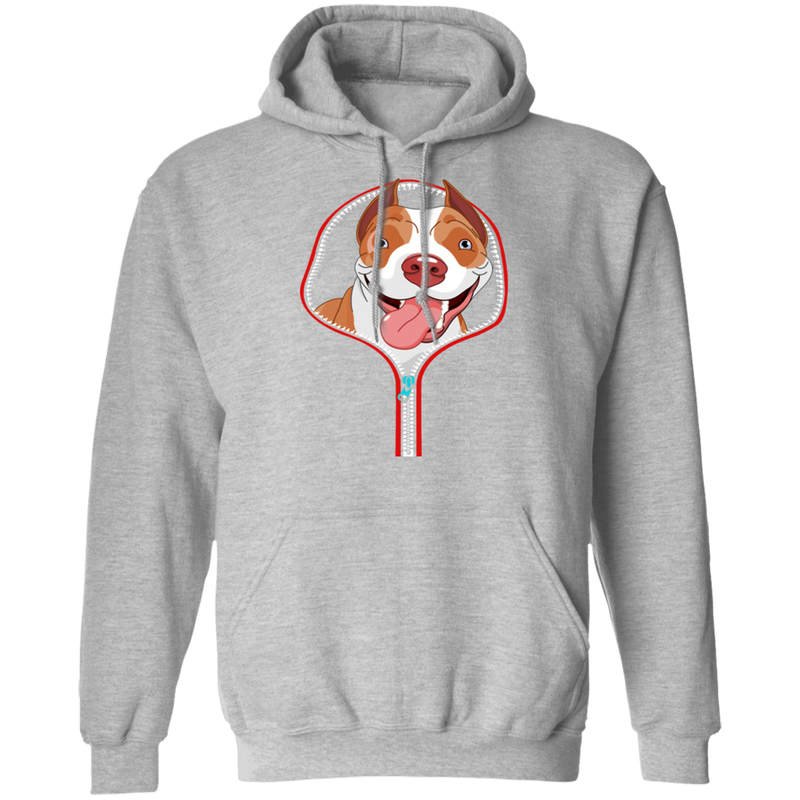 PITBULL ZIP-DOWN LADIES Pullover Hoodie 8 oz.