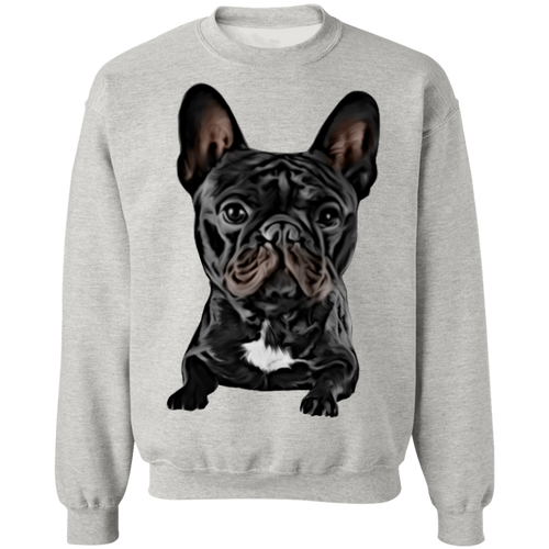 CUSTOMIZED PET PRINT ART Crewneck Pullover Sweatshirt  8 oz.