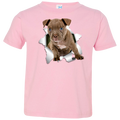 PITBULL 3D Toddler Jersey T-Shirt