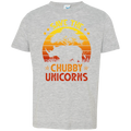 SAVE THE CHUBBY UNICORNS Toddler Jersey T-Shirt