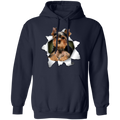 YORKSHIRE TERRIER 3D LADIES Pullover Hoodie 8 oz.