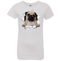PUG 3D Girls' Princess T-Shirt