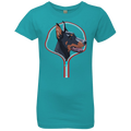 DOBERMAN ZIP-DOWN Girls' Princess T-Shirt