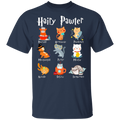 HAIRY PAWTER Youth 5.3 oz 100% Cotton T-Shirt