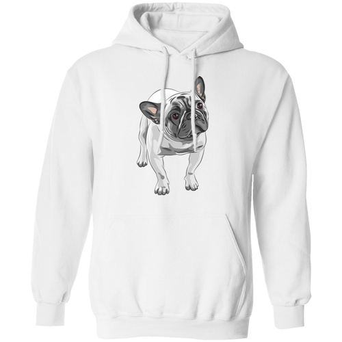 FUNNY ENGLISH BULLDOG Pullover Hoodie 8 oz.