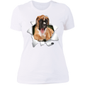 BOXER 3D Ladies' Boyfriend T-Shirt