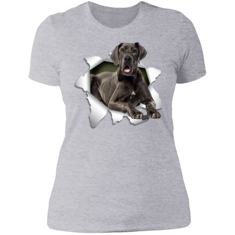 GRETA DANE 3D Ladies' Boyfriend T-Shirt
