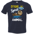 OTTERS ARE MY SPIRIT ANIMAL Toddler Jersey T-Shirt