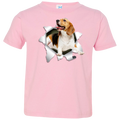 BEAGLE 3D Toddler Jersey T-Shirt