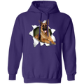GERMAN SHEPARD 3D LADIES Pullover Hoodie 8 oz.