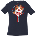 PITBULL ZIP-DOWN Infant Jersey T-Shirt