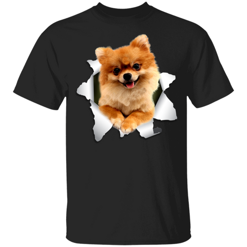 POMERANIAN 3D Youth 5.3 oz 100% Cotton T-Shirt