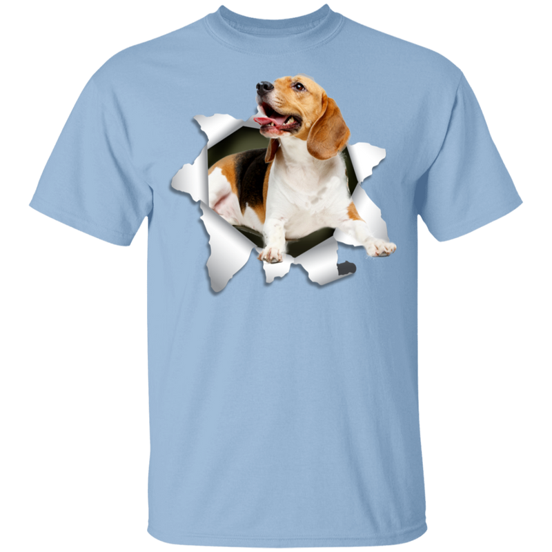 BEAGLE 3D Youth 5.3 oz 100% Cotton T-Shirt