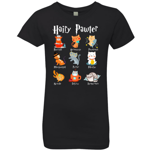 HAIRY PAWTER Girls' Princess T-Shirt